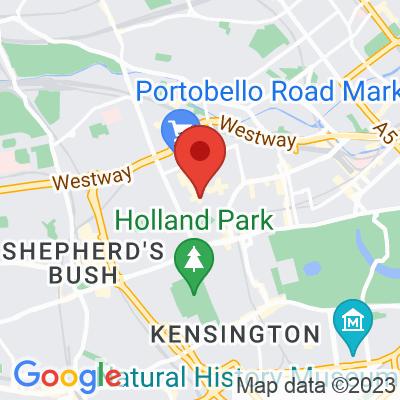 Map showing Big Bro Espresso (Portobello Rd)