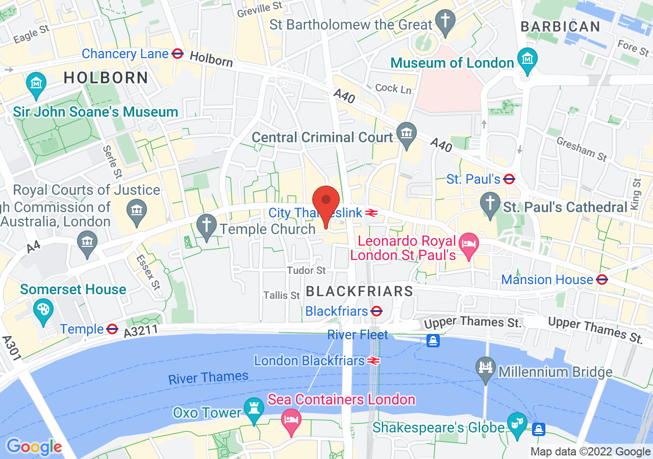 The location of Humble Grape Fleet Street