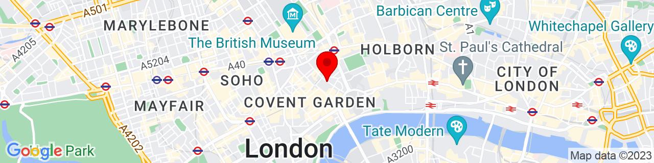 Google Map of 51.51415277777778, -0.12117222222222222