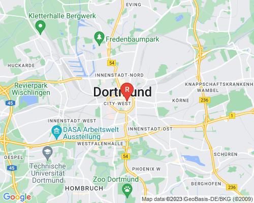Google Karte von Rohrreinigung Dortmund