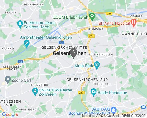 Google Karte von Schlüsseldienst Gelsenkirchen