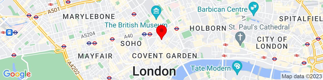 Google Map of 51.51507222222222, -0.12510833333333332