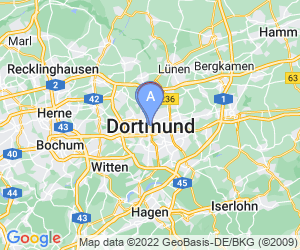 Karte für Mercure Hotel Dortmund City