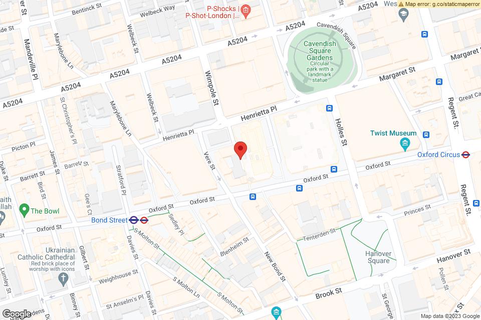DEBENHAMS OXFORD STREET, LONDON, W1G 0AA map