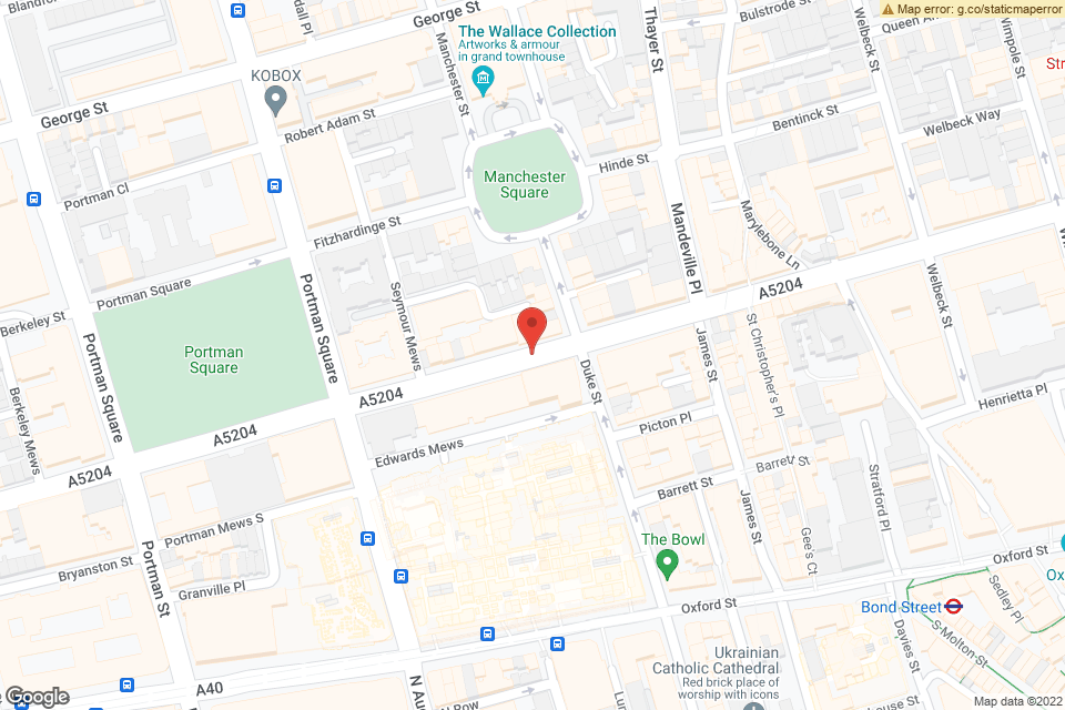 110-116 Wigmore Street, London, W1U 3RS map