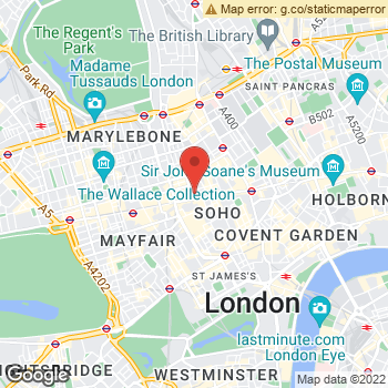 Map of Yext at 2 Great Titchfield Street, London, Greater London W1D 1NN