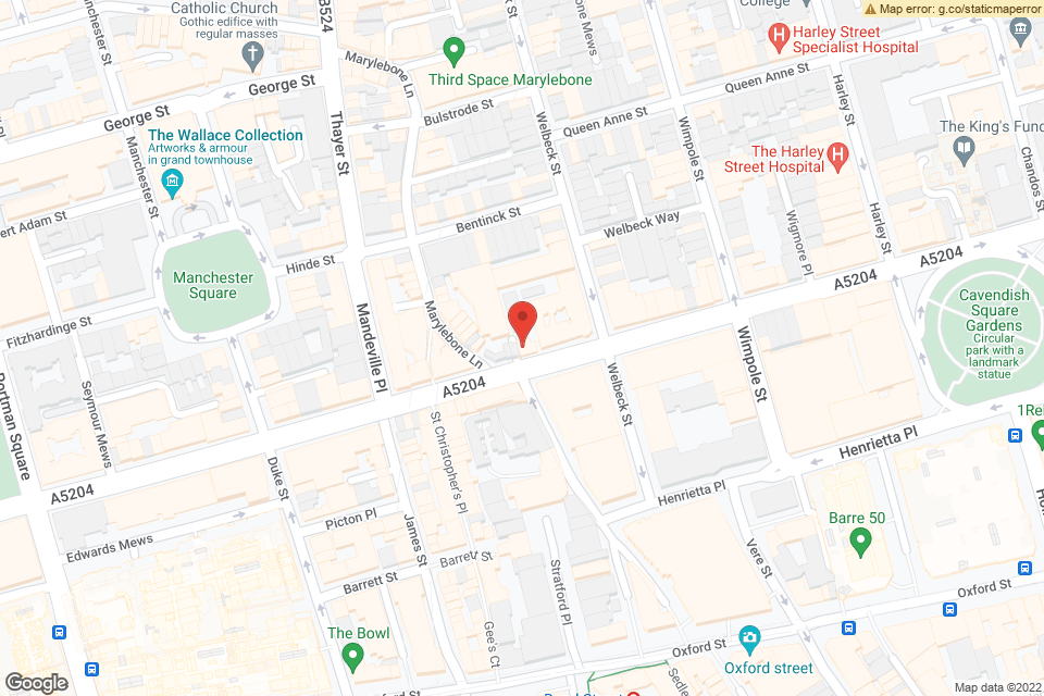 56-60 Wigmore Street, London, W1U 2RZ map