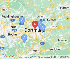 Karte für a&o Dortmund Hauptbahnhof