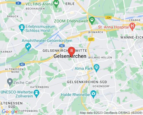 Google Karte von Rohrreinigung Gelsenkirchen