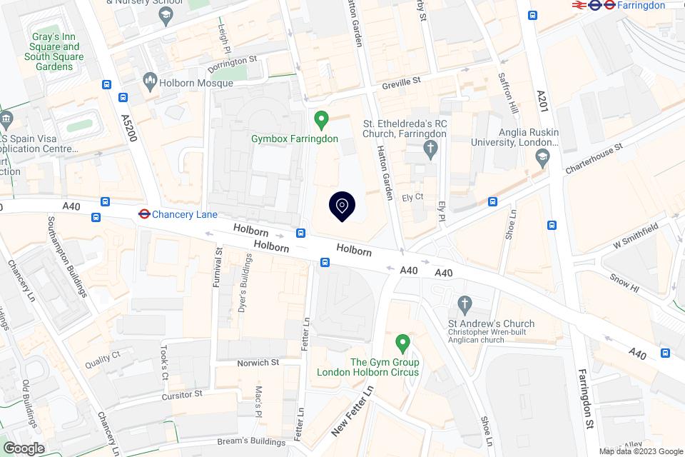 HOLBORN CIRCUS, LONDON, EC1N 2TD map