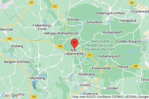 Karte Bad Liebenwerda
