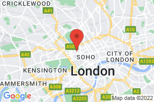 British Dental Association Library on the map