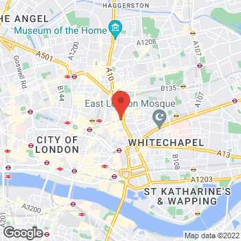 Map of Charlotte Tilbury - سبيس ان كيه شورديتش at وحدة 3b ،68 شارع برشفيلد, لندن, لندن الكبرى E1 6AG