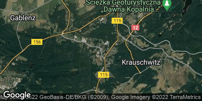 Google Map of Krauschwitz