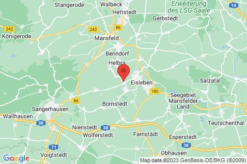 Karte Wimmelburg