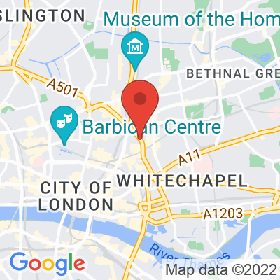 Map showing The Watch House (Spitalfields)