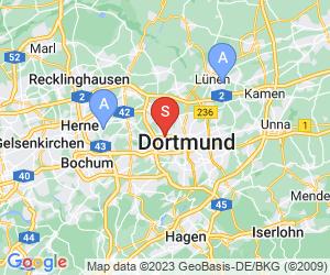 Karte für Disc Golf-Anlage Dortmund – Revierpark Wischlingen