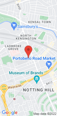 Map showing the location of the London N. Kensington monitoring site