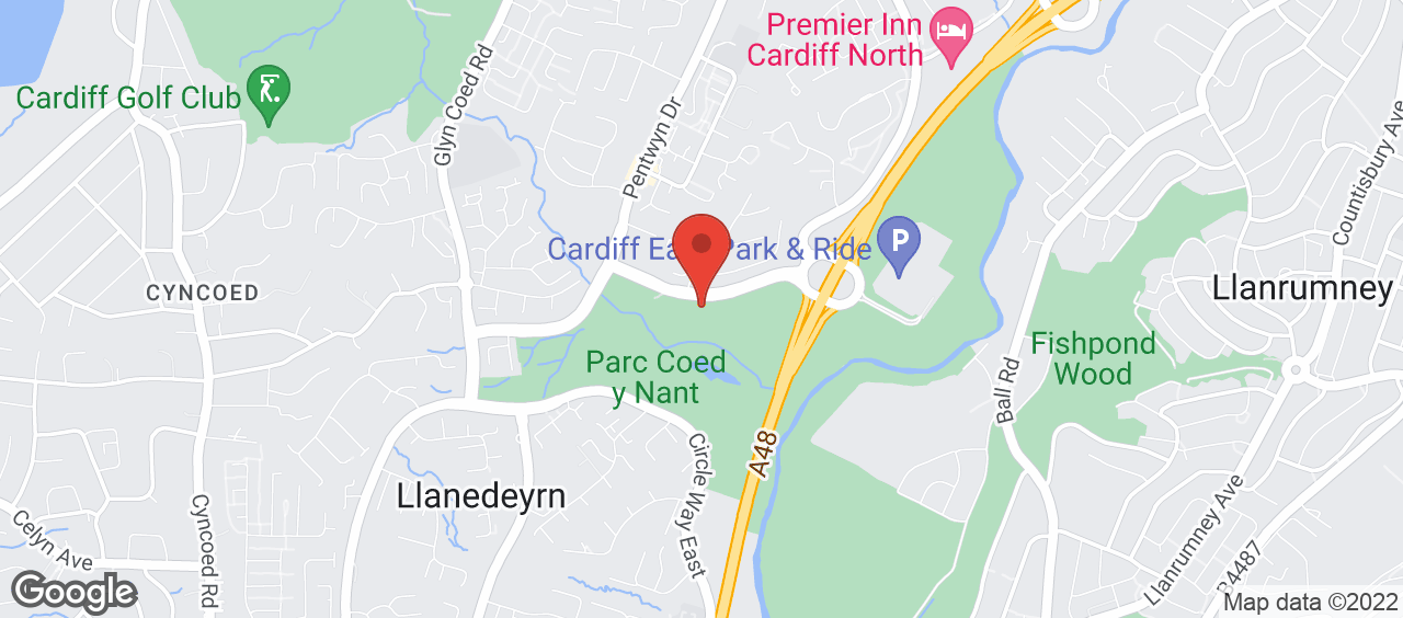Pentwyn Leisure Centre location and directions