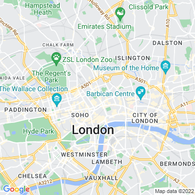Russell Square, Bloomsbury Location