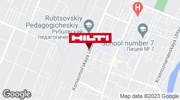 Get directions to Терминал самовывоза DPD г. Рубцовск