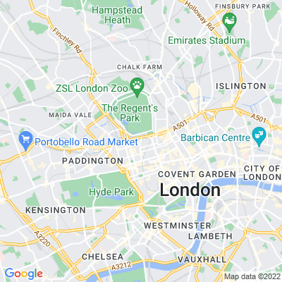 Garden of Rest Marylebone Location