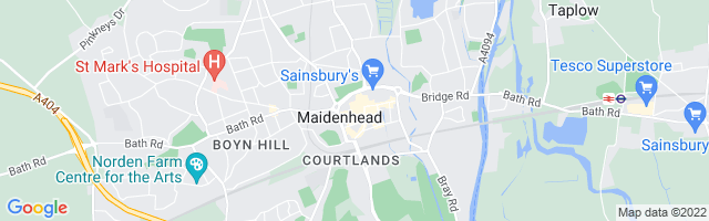 Map Of Maidenhead