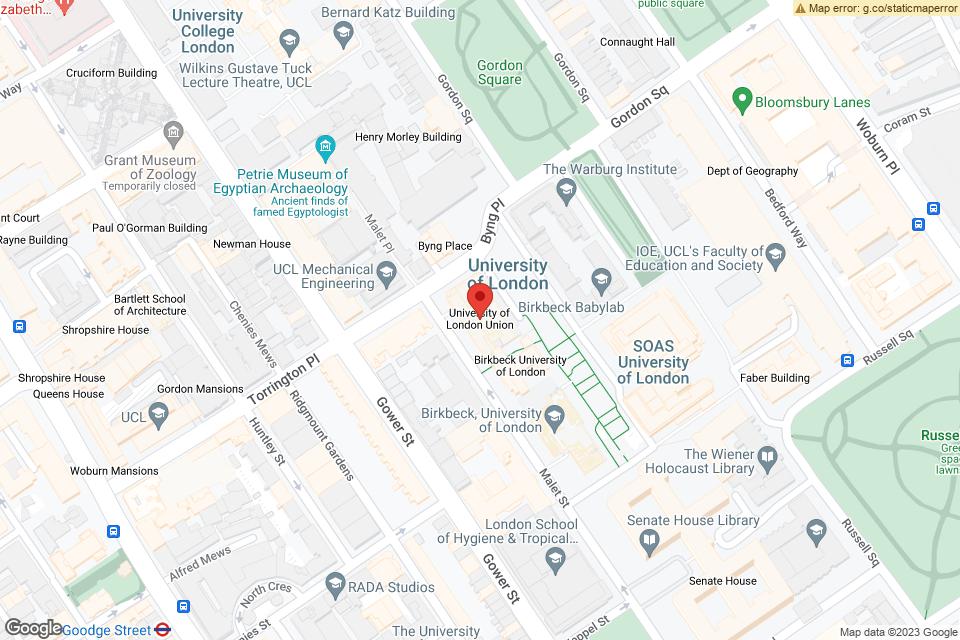 Malet Street, London, WC1E 7HY map