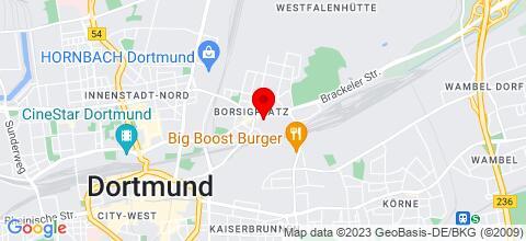 Google Map für Tilgert Wohnungen Dortmund ab 8,00€