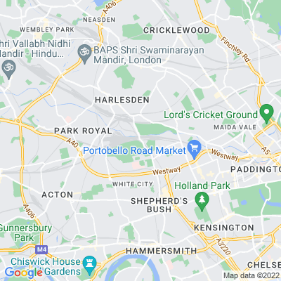 Wormwood Scrubs including Old Oak Common Location