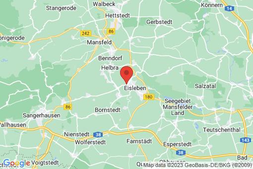 Karte Lutherstadt Eisleben