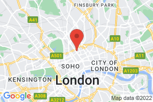 British Medical Association Library on the map