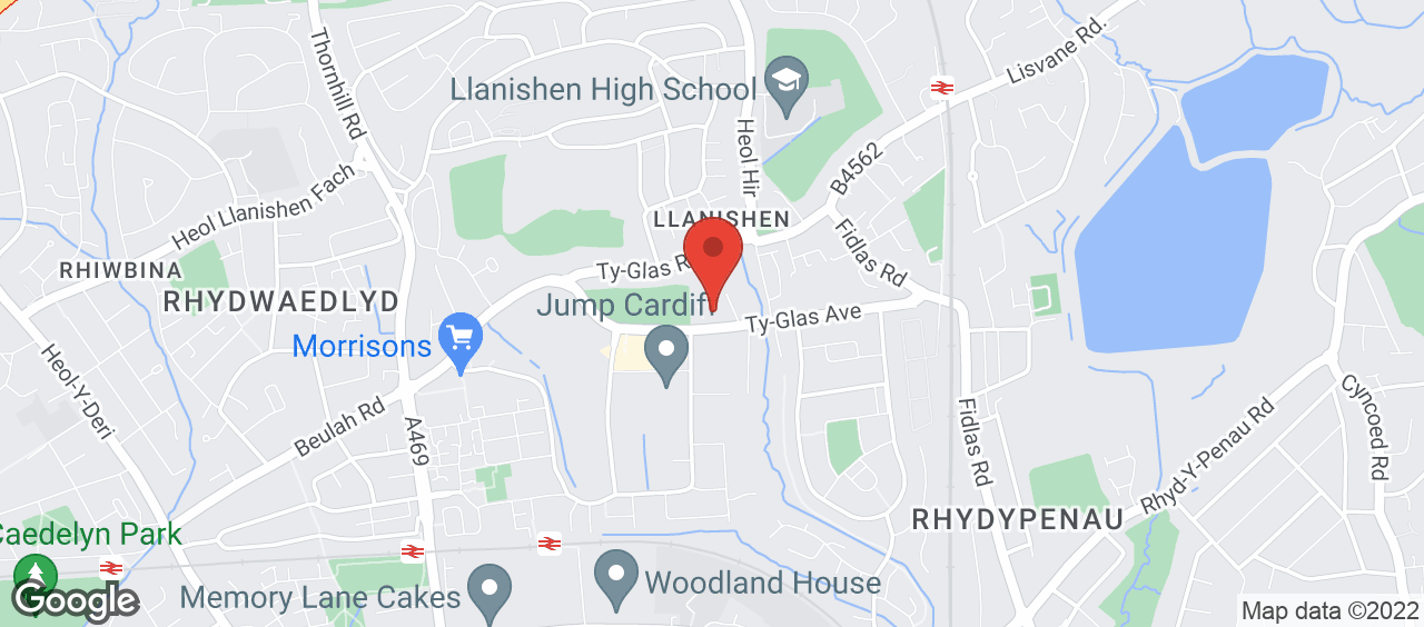Llanishen Leisure Centre location and directions