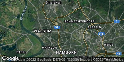 Google Map of Wehofen