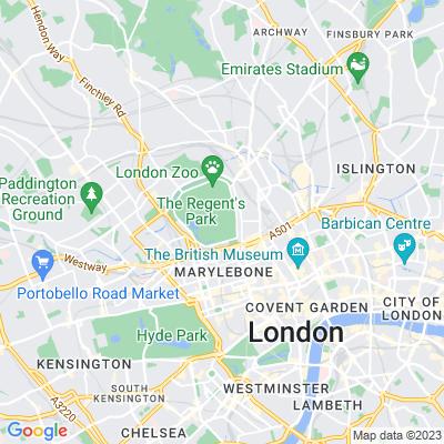 The Regent's Park Location