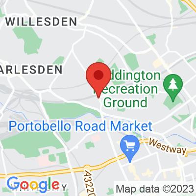 Map showing Wildcard Café