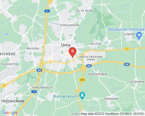 Google Karte von Rohrreinigung Unna