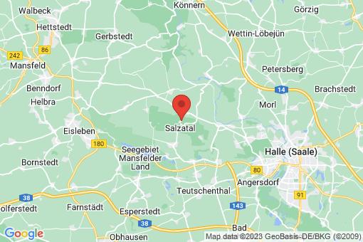 Karte Schochwitz