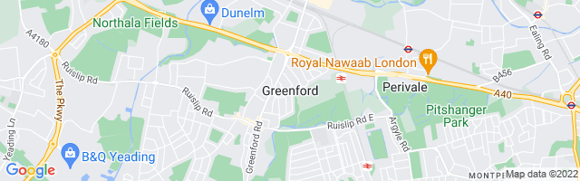 Map Of Greenford