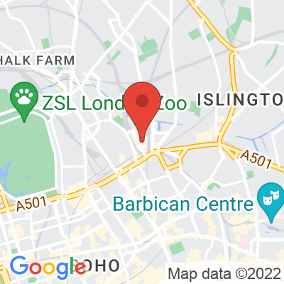 Map showing Craft Coffee (Kings Cross)
