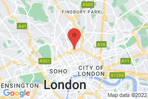 Anna Freud Centre at the Kantor Centre of Excellence on the map
