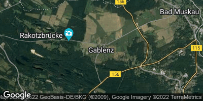 Google Map of Gablenz