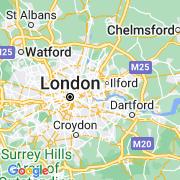 Le thème Londres sur notre carte histoire-géo