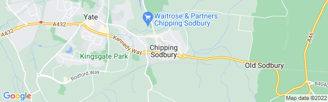 Map Of Chipping Sodbury