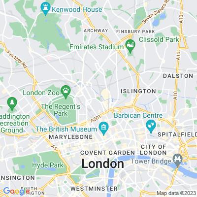 St Pancras Gardens Location