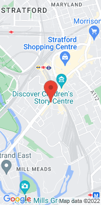 Map showing the location of the Newham Cam Road [Closed] monitoring site