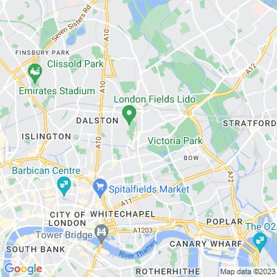 Mare Street Triangle Location