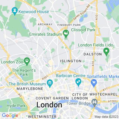 Thornhill Square Gardens Location
