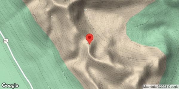 S Hector Ridge - Roadside glades - Splitfest