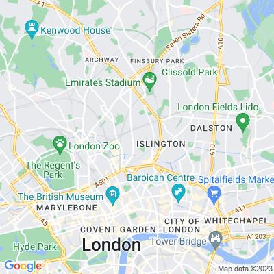 Thornhill Crescent Location
